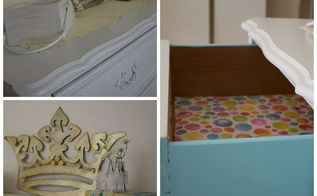 painted furniture desk shabby chic, bedroom ideas, chalk paint, painted furniture