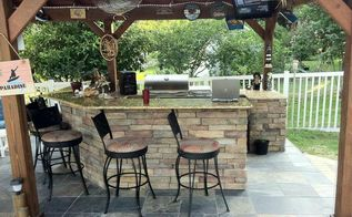 how to create the ideal outdoor kitchen, home improvement, how to, kitchen design, outdoor living
