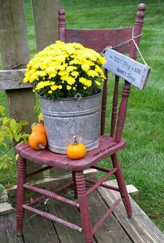 garden art kitchen chair repurposed planter stand, container gardening, flowers, gardening, repurposing upcycling