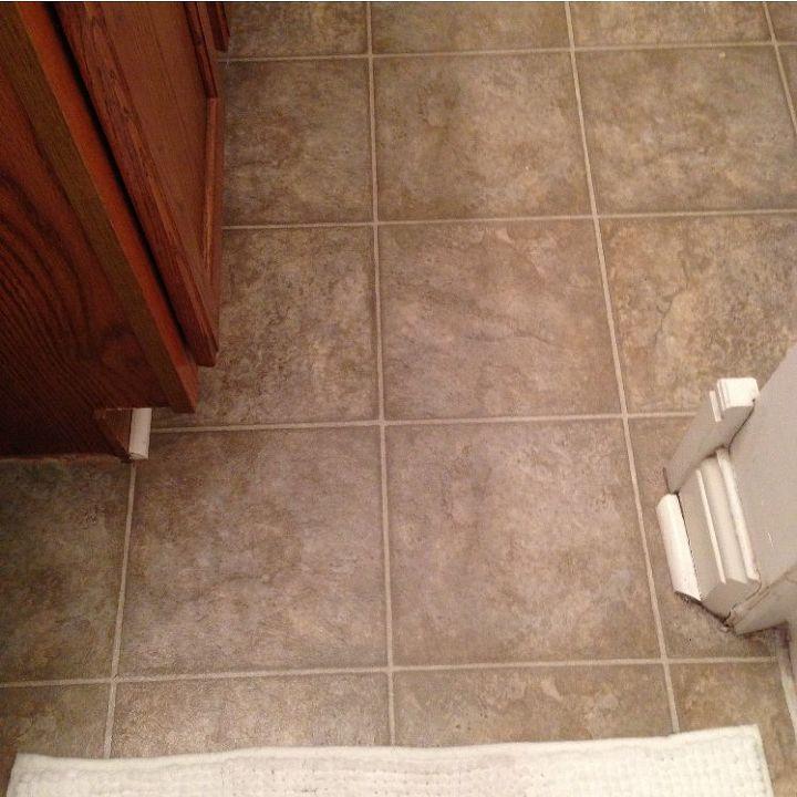 guest bathroom redo update budget affordable before after bathroom ideas diy flooring