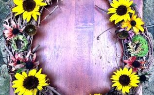 fall decor wreath garden bird feed, seasonal holiday decor, wreaths