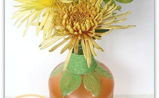 diy frosted pumpkin vase, crafts, repurposing upcycling, seasonal holiday decor