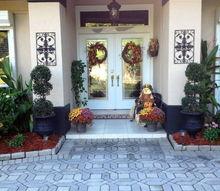 loving fall in florida, seasonal holiday decor