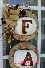 fall pumpkin wreath w dollar store items, crafts, seasonal holiday decor, wreaths