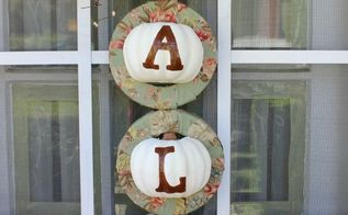 fall pumpkin wreath w dollar store items, crafts, seasonal holiday decor, wreaths