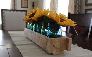 pallet wood centerpiece, crafts, pallet, repurposing upcycling, seasonal holiday decor