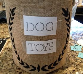 Chic and Affordable Dog Toy Storage Ballard KnockOff Hometalk