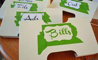 organizing mail ikea budget filing, crafts, home decor, organizing, storage ideas