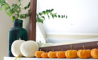 autumn fall decor cozy natural flowers blankets pumpkins, home decor, seasonal holiday decor