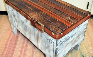 belt bench, outdoor furniture, repurposing upcycling, rustic furniture