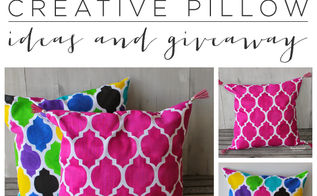 stenciling pillow ideas paint a pillow, crafts, home decor, painting