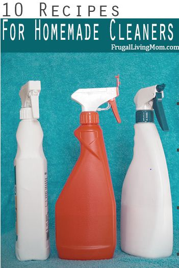 10 Homemade Household Cleaner Recipes Hometalk