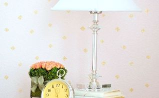 stenciled walls blush gold diamonds tween girls room, bedroom ideas, painting, wall decor