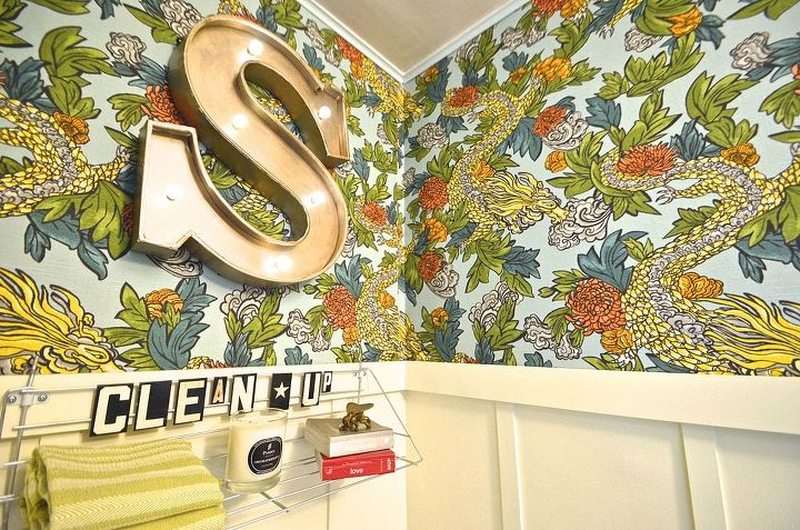 Funky Bathroom Wallpaper Ideas To Cheer Up The