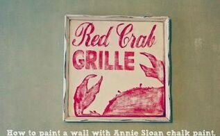 calk paint walls annie sloan, chalk paint, painting, How to paint a wall with Annie Sloan Chalk Pa