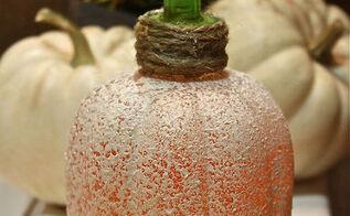 pumpkin soap dispenser fall decor, crafts, halloween decorations, seasonal holiday decor
