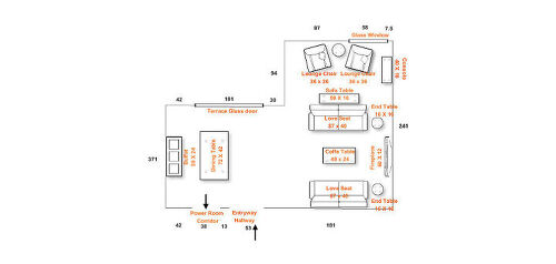 I Am Also Attaching Some Items That We Liked Considering To Purchase Once Are Settled On The Furniture Arrangement Plan Note Dimensions In Inches