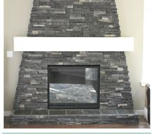 diy fireplace mantel, diy, fireplaces mantels, home decor, woodworking projects