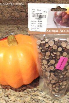 fall decor wood slice pumpkin, crafts, seasonal holiday decor