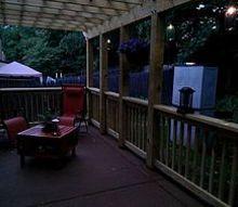 diy pergola patio outdoor living wood, decks, outdoor furniture, outdoor living, patio