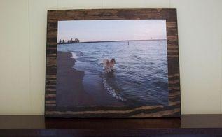 how to mod podge a photo onto wood, crafts, decoupage, how to