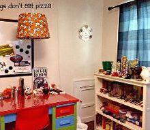 create a homework station for your child, bedroom ideas, home office, organizing, shelving ideas