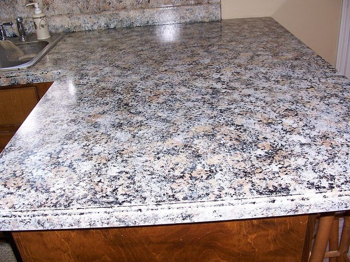 painting kitchen counters giani granite, countertops, kitchen design ...