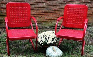 painted furniture vintage lawn chair reno, outdoor furniture, painted furniture