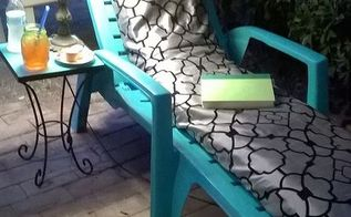 patio makeover, outdoor furniture, painted furniture, patio