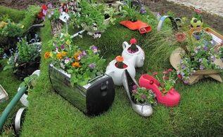 12 inspiring and creative garden planters ideas, container gardening, flowers, gardening, repurposing upcycling