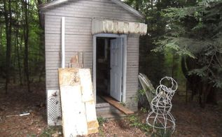 chicken coop pump house designer upcycle, homesteading, outdoor living, pets animals, The pump house as we removed stored items