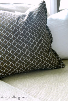no sew zippered pillow cover, crafts