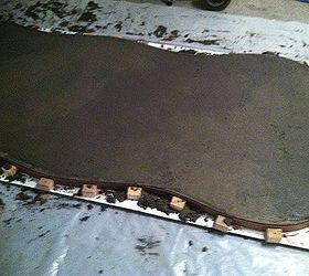 Concrete Patio Table, Concrete Masonry, Diy, Outdoor Furniture