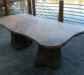 Concrete Patio Table, Concrete Masonry, Diy, Outdoor Furniture