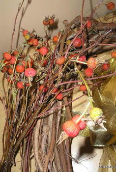 fall looks in 15 minutes or less, crafts, seasonal holiday decor, wreaths, A quick make do project