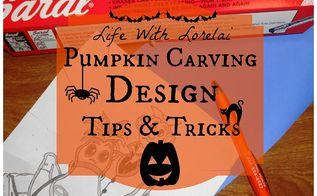 pumpkin carving design tips tricks, crafts, halloween decorations, seasonal holiday decor