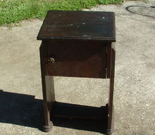 q smokers cabinet vintage antique salvage, painted furniture, repurposing upcycling
