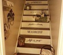 painted staircase steps attic furnished, bedroom ideas, home maintenance repairs