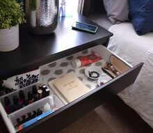 organizing nightstand bedroom simple, bedroom ideas, home decor, organizing