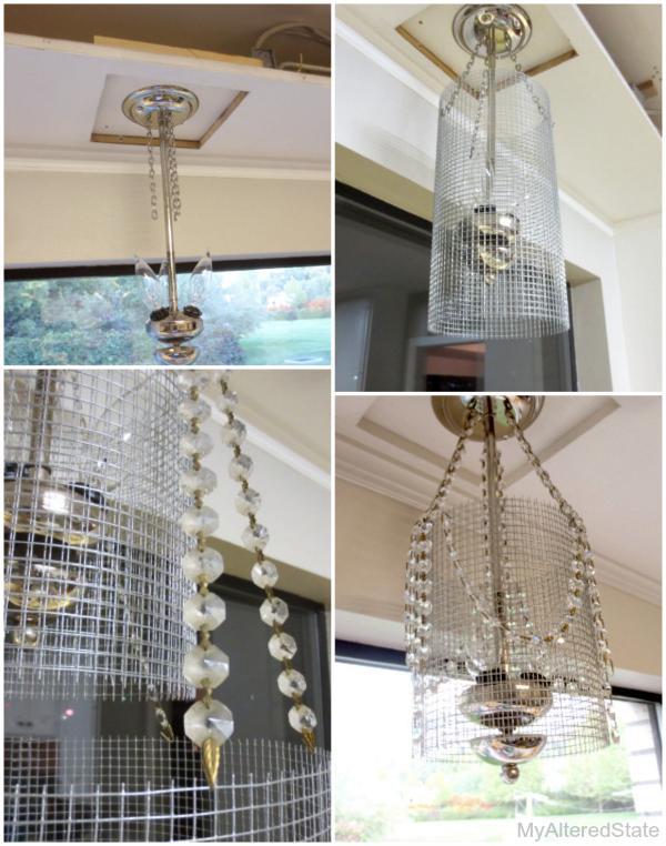 Lighting Modified Fixture Update Home Decor Lighting Repurposing Upcycling