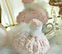 crafts pink princess pumpkins, crafts, seasonal holiday decor
