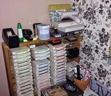 craft closet reveal organized, closet, craft rooms, crafts, organizing, storage ideas