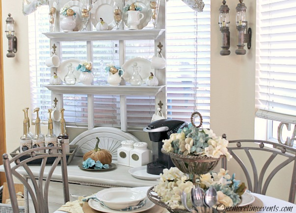 Dining Room Ideas Fall Kitchen Tablescape Decor Design Seasonal Holiday