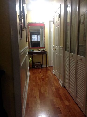 Long Narrow Foyer : What to do with a long narrow hallway hometalk