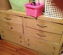 q what should i do with this great old vintage 50 s bedroom furniture, painted furniture, repurposing upcycling, The dresser
