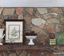 foyer fall mantel natural materials, fireplaces mantels, foyer, home decor, seasonal holiday decor