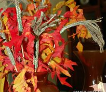 diy faux wheat stalks, crafts, seasonal holiday decor