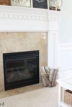 fall mantel living room, chalkboard paint, fireplaces mantels, living room ideas, seasonal holiday decor