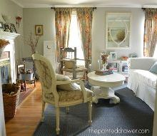 how to decorate a room for less than 500, home decor, living room ideas, repurposing upcycling