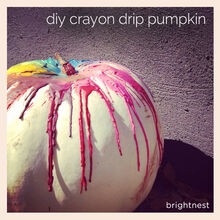 crafts pumpkin crayons crayola, crafts, halloween decorations